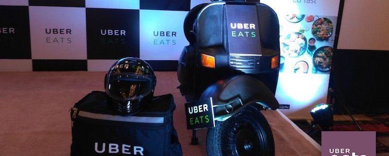 خدمة توصيل طلبات Uber Eats
